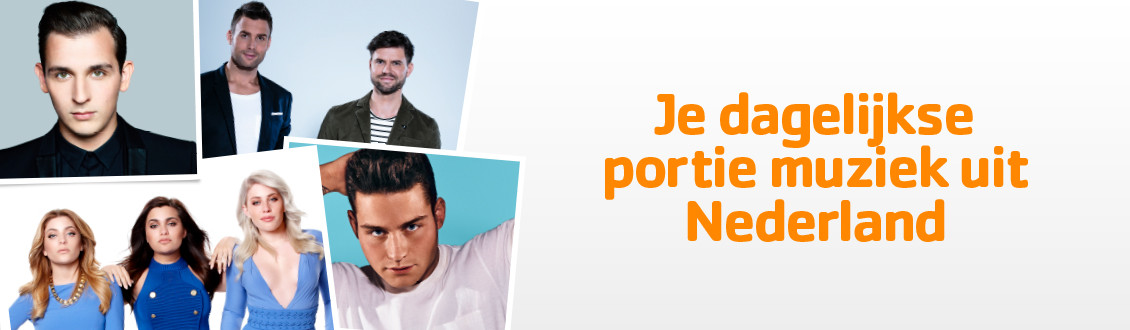 Luister naar 100% NL Feest, 100% NL Liefde of 100% NL Dance