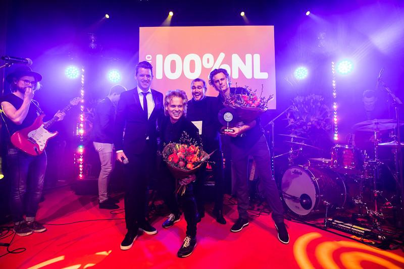 BLØF is grote winnaar op de 100% NL Awards