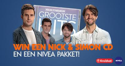 Nick & Simon + NIVEA pakket