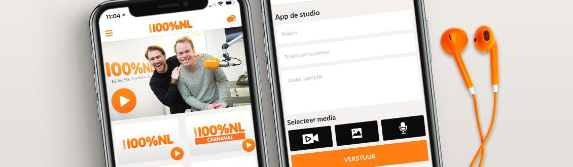 Download de gratis 100% NL app!