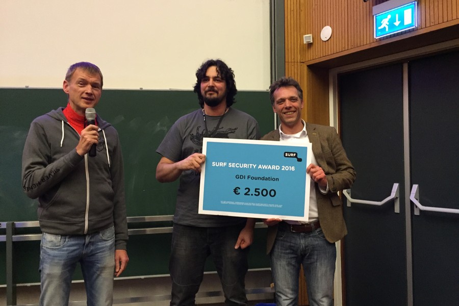 Cybersecurity: GDI Foundation wint SURF Security Award